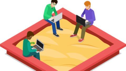 Regulatory sandbox по-русски: новым технологиям позволят повозиться в «песочнице» изображение
