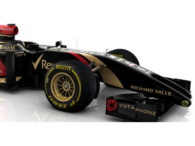 &copy Lotus F1 Team Official Site