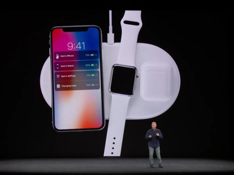 Беспроводная зарядка Apple Air Power выйдет ориентировочно осенью 2018 года