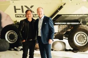 Volvo и NVIDIA преобразуют грузовые перевозки