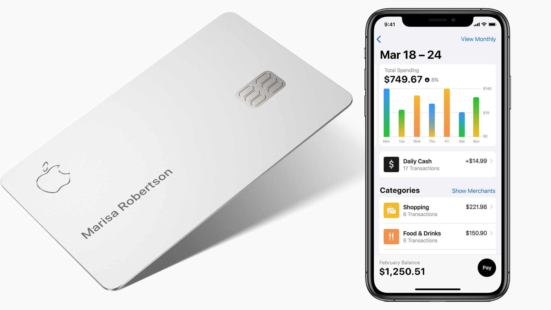 Apple Card: начат выпуск виртуальной кредитной карты