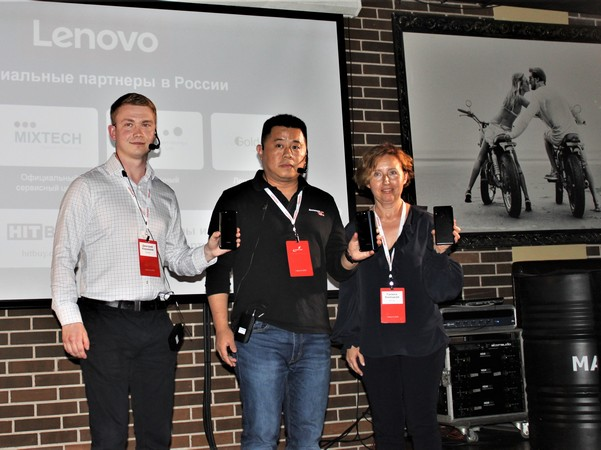 Смартфоны Lenovo опять на российском рынке